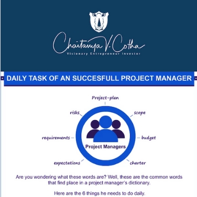 Successfull Project Manager,