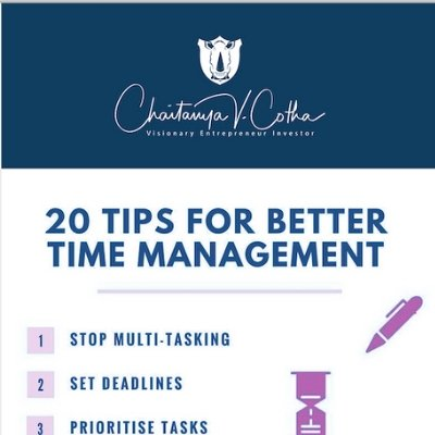 Tips for Time Management,